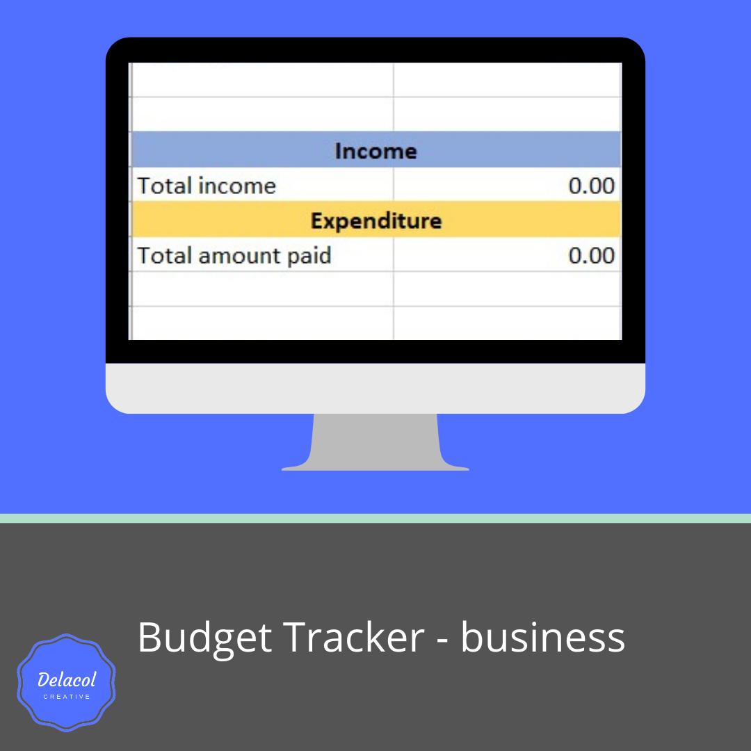 delacolcreative.co.uk-business budget tracker